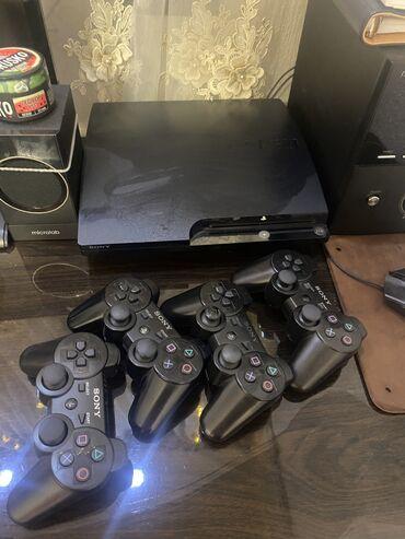 геймпад для гонок в Кыргызстан: PS3 прошитый 15 игр 4 геймпада) 232гб