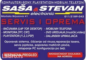 Servis sonyplaystation 1,2,3,4 i psp konzoli, reparacija lasera, - Beograd