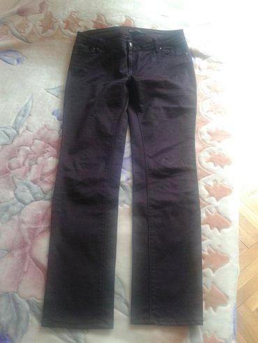 Zenske ZARA pantalone.par puta nosene skoro nove.boja trula - Valjevo