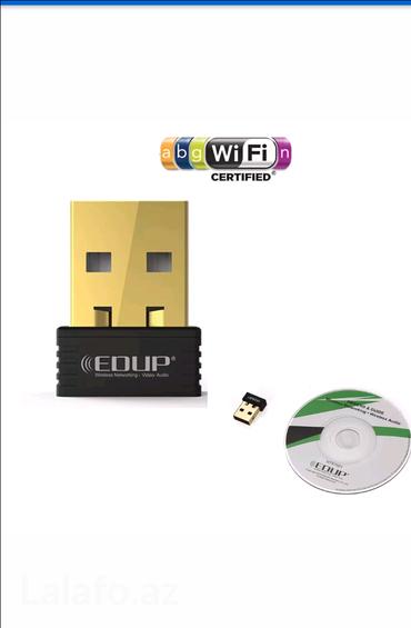 Bakı şəhərində EDUP wifi adaptor satilir... Kompyuterinizde internete cixis yoxdursa