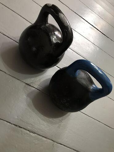 Гири - Бишкек: Две гири 32 кг. за 5000 с. (каждая гиря весом 32 кг.)