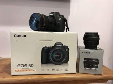 Bakı şəhərində Canon kamera EOS 6D orijinal