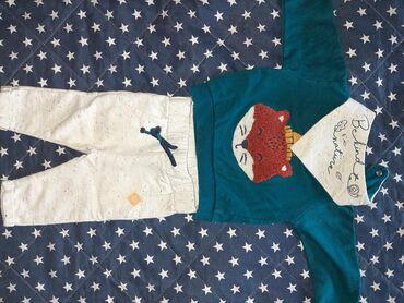 Ostala dečija odeća | Cacak: Polovan kompletic za bebu, vel 68, ocuvano!!!