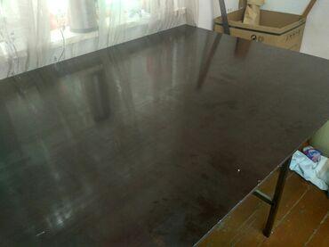 скороход доставка бишкек в Кыргызстан: Продаётся стол!  Качественно ломинированная доска(не креплен к профиль