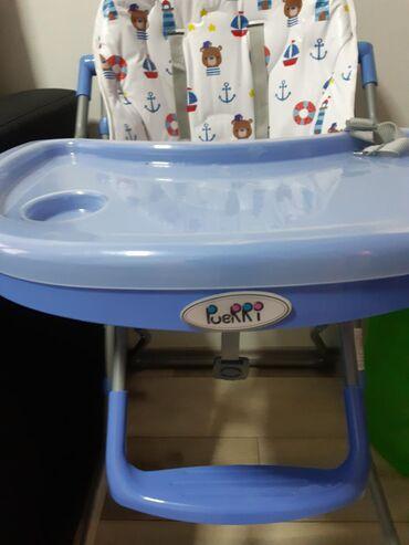 Stolice za hranjenje beba, nove. Cena po stolici 3000