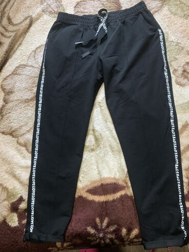 Продаю спортивные штаны, по бокам лампасы,, тоненькие, размер 54