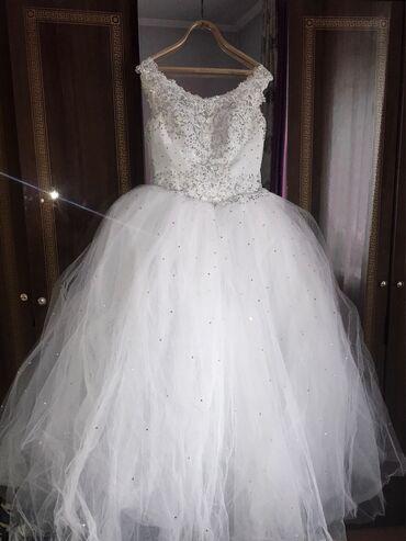 турецкие платья со стразами в Кыргызстан: Сдаю на прокат шикарное пышное свадебное платье, привезённое мною личн