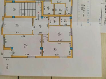 сдается квартира в городе кара балта в Кыргызстан: Продается квартира: 3 комнаты, 88 кв. м