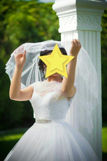 Продаю или сдаю на прокат очень красивое и нежное  свадебное платье от в Бишкек