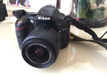 Bakı şəhərində Nikon D5200 epa veziyyetde 3 k probegi var hec bir problemi yoxdu.