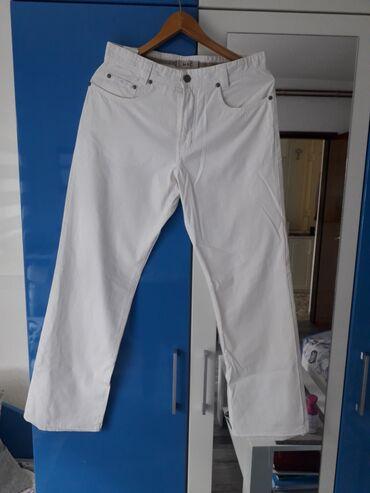 Muške Pantalone | Kladovo: Muske bele pantalone