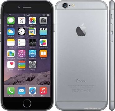 Электроника - Ананьево: Б/У iPhone 6s 128 ГБ Серый (Space Gray)