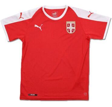 Originalni Puma crveni dres SrbijeOdličan. 100% original.Cena 6.000