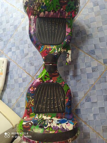 Другой транспорт - Кыргызстан: Продаю 10 дюймовый гироскутер оригинал сост.100/70есть одна трещина и
