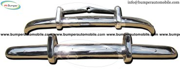 Volvo PV 444 (1947-1958) bumpers stainless steel in Bhadrapur
