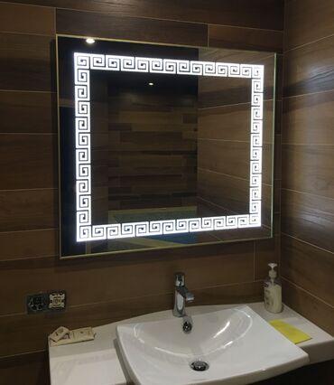 зеркала бишкек in Кыргызстан | АВТОЗАПЧАСТИ: Зеркало с подсветкой на заказ Любой сложности, можно любой