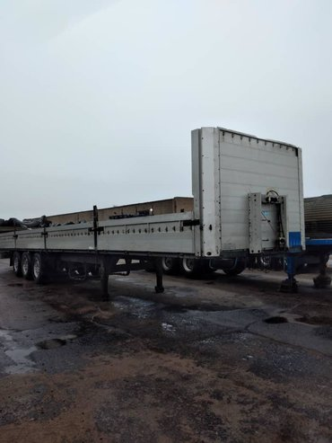 Купить грузовик до 3 5 тонн бу - Кыргызстан: Шмитц 2001 тент