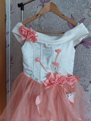 турецкое платья со стразами в Кыргызстан: 1.Продаю нарядное платье на 7-10 лет ( размер регулируется) Цена