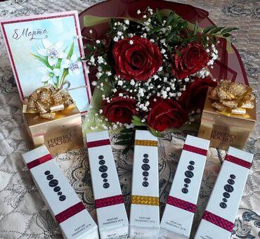 Красота и здоровье - Кыргызстан: Духи номерные есенс как версачи Армани; эклат; Шанель ; объем 50 мл
