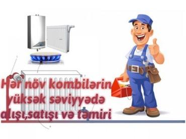 Hər növ kombilərin yüksək səviyyədə təmiri,alışı,satışı в Bakı