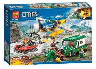 """Конструктор Lego """"Cities"""" 409 деталей Компания """"Okitoys"""" интернет -"""