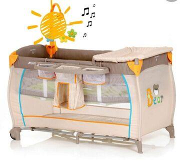 Продаю б/у Манеж-кроватьHauck Babycenter   ( покупали за 15 000 сом)