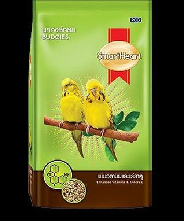 сетка от птиц в Кыргызстан: Корм для птиц «SmartHeart» для волнистых попугаев и средних попугаев