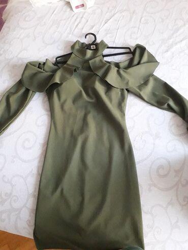 Haljina gratis - Srbija: Haljina nosena jedanput, velicina univerzalna. Pogledajte ostalo sto