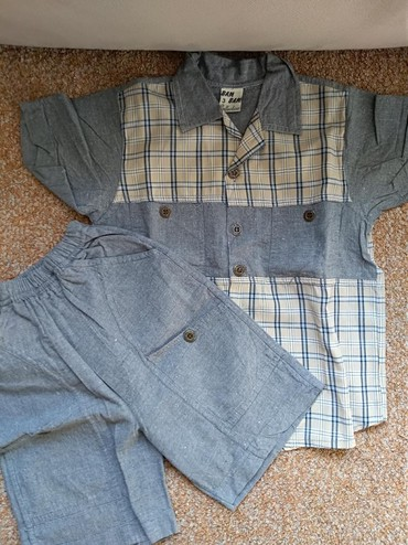 Dečija odeća i obuća - Prijepolje: Kompletic za decaka. Sorts i maica. U savrsenom stanju. Nosen vrlo