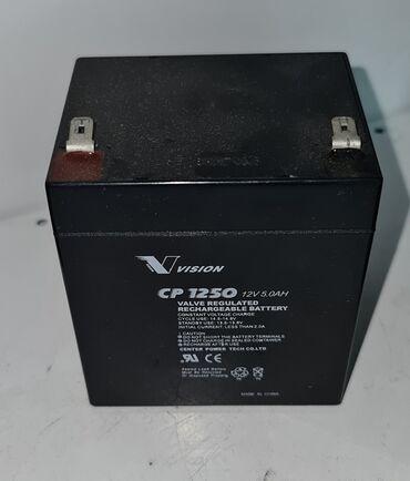 Аккумуляторная батарея Vision 12v 5 AH