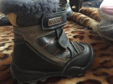 Ботиночки зимние, с натуральным мехом. в Бишкек