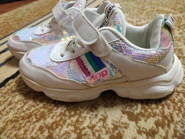 Новые кроссовки Размер 33 +/- Фирма: загадка Цена:400