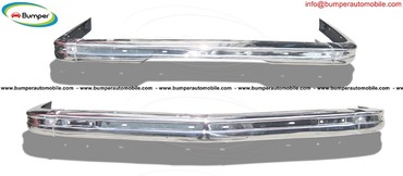BMW E21 bumper (1975 - 1983) by stainless steel σε Axioupoli