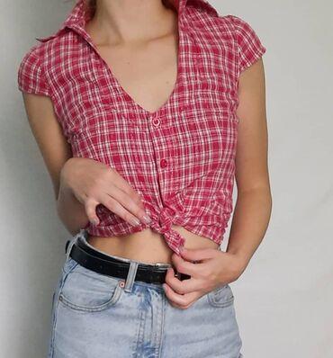 Preslatka vintage karirana košuljica