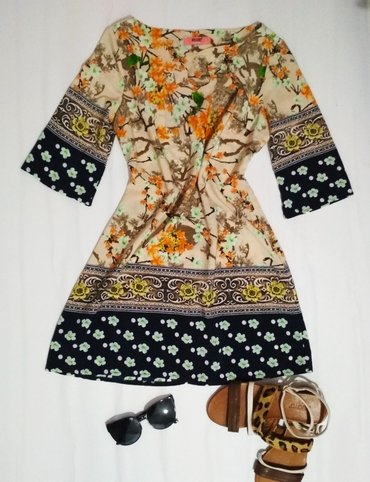 Новое летнее платье,  куплена в Турции в Бишкек