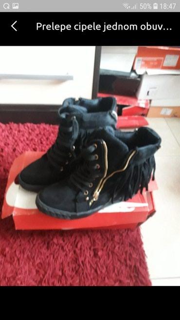 Poluduboke cipele jednom obuvene 38..br - Pancevo