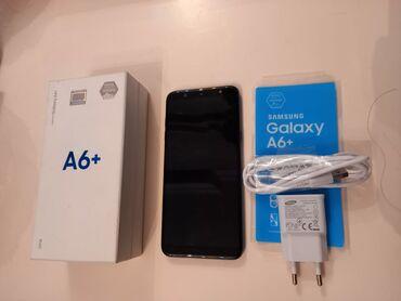 Samsung galaxy young - Азербайджан: Б/у Samsung Galaxy A6 Plus 32 ГБ Синий