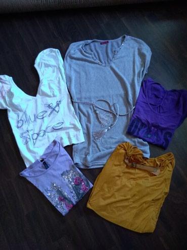 Personalni proizvodi | Ruma: Pet ženskih majica odlično očuvanih. Veličina M