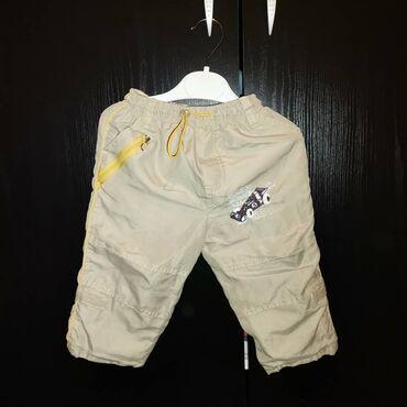 Postavljene decije pantalonice bez ikakvih ostecenjaVelicina 86Kao