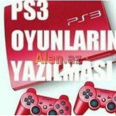 зарядка sony ericsson в Азербайджан: Ps3 butun modellerine oyunlarin yazilmasi.oyunlar 100%orginaldir