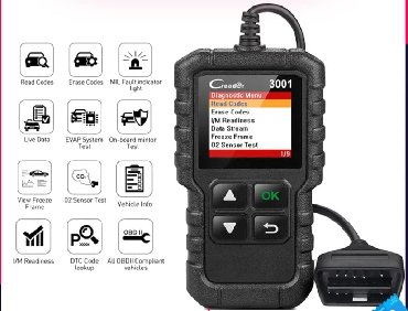 Tuning i styling oprema - Srbija: Auto Dijagnostika LAUNCH X431 CReader 3001 Full OBD2 EOBD Code Reader