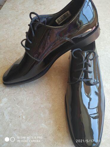 Новые туфли от Joseph Abboud, размер 42,5-43,внутри из натуральной