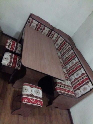 Продаю новый кухонный уголок с 3 тубуретками 8500 с 4 табуретками 9500 в Лебединовка
