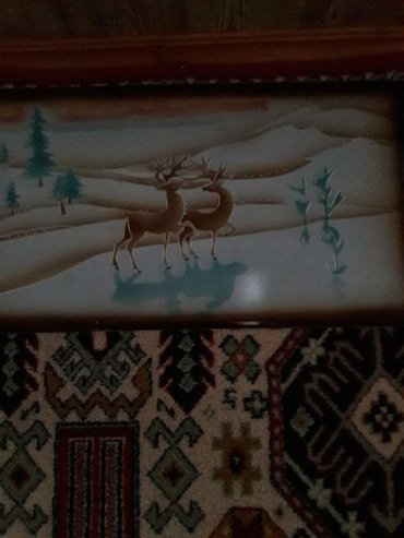 "Картина ""олени"" в Бишкек"