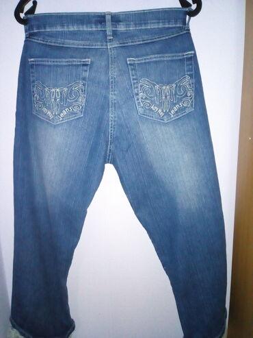 Pink jeans farmerke - Srbija: Nove farmerice sa cipkom-Anyway jeans, velicina 42.3\4
