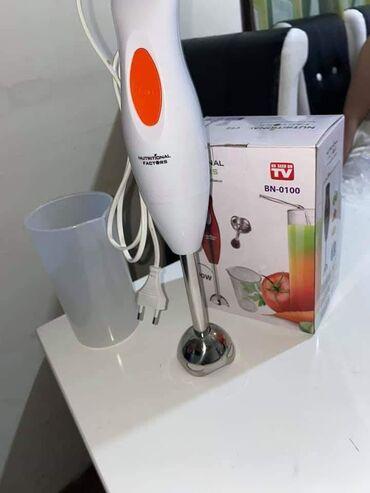 Nozevi - Srbija: Rucni blender štapni mikser 300W+Posuda za mucenje   Cena 1600din Ruc