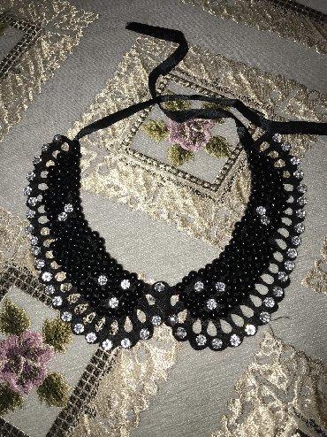 Другие украшения - Кыргызстан: Ожерелье воротник. Новое. Чёрного цвета. Цена