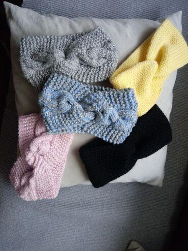 Pleteni prslici - Srbija: Pletene trake za glavu jedna 500 din