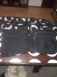 Torbice muske - Srbija: Dve muske torbice,jedna sa ostecenim cickom,sve ostalo celo,cibzari