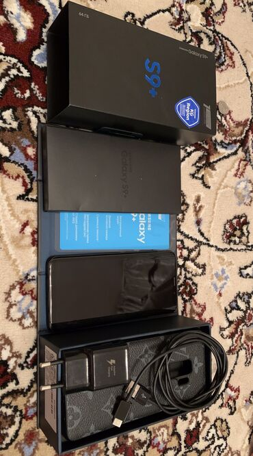Б/у Samsung Galaxy S9 Plus 64 ГБ Черный